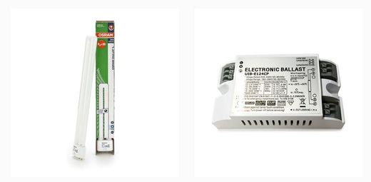 Osram light and electronic ballast for Herbie